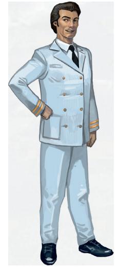 un commandant accueillant © Multifaces Editions