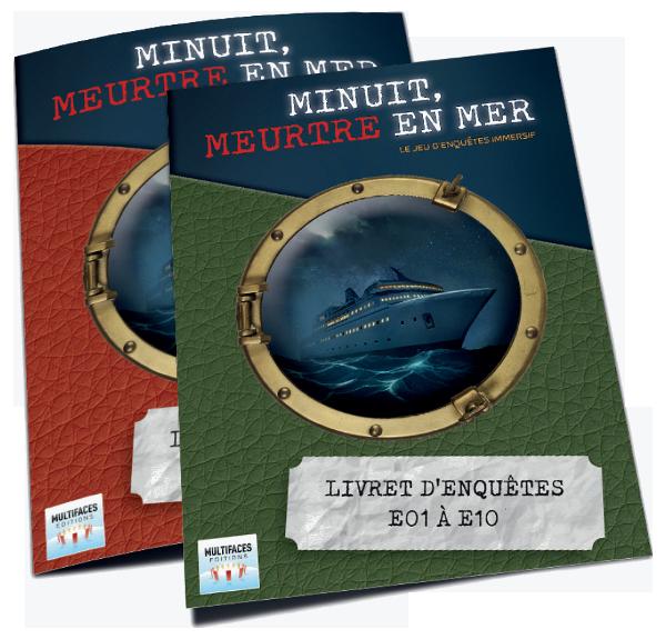 deux livrets pour vingt enquêtes © Multifaces Editions
