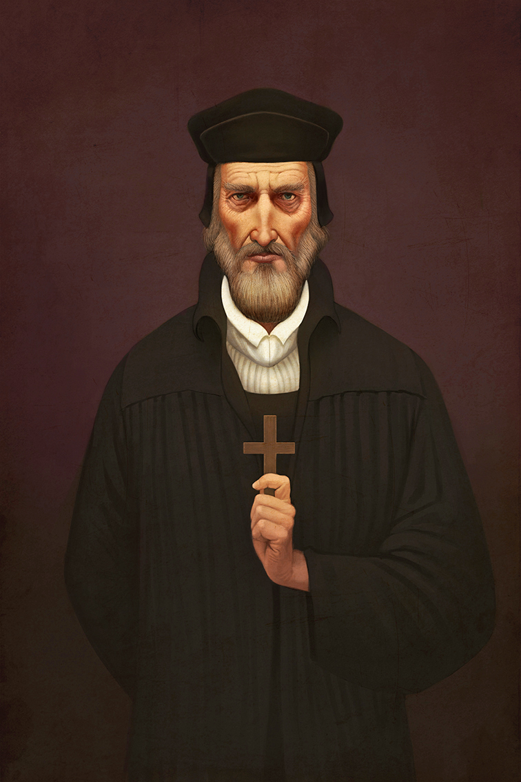 Magnum Opus, Johann, le religieux © Arnaud Demaegd
