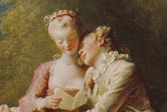 La maestra de Fragonard pour la frivolité, l'innocence & le badinage dans des décors bucoliques, a certainement inspiré la scène de la forêt entre Valmont et sa cousine dans le tome 1.