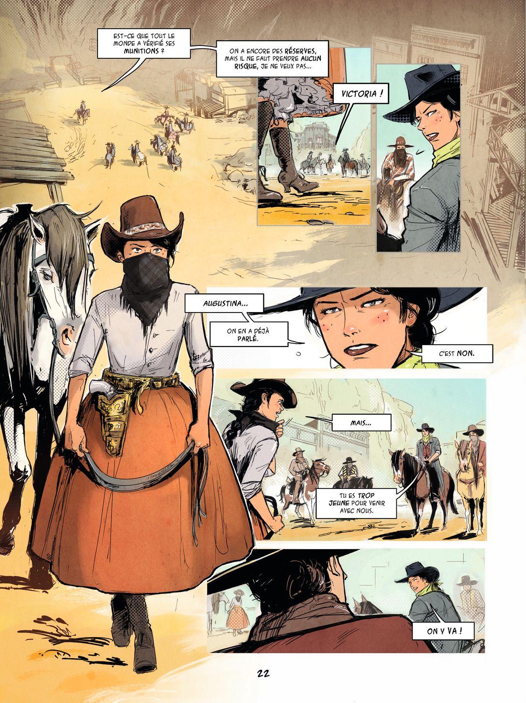 Hippolyte, page 22, version finae © Vents d'Ouest / Carole Chaland / Clotilde Bruneau