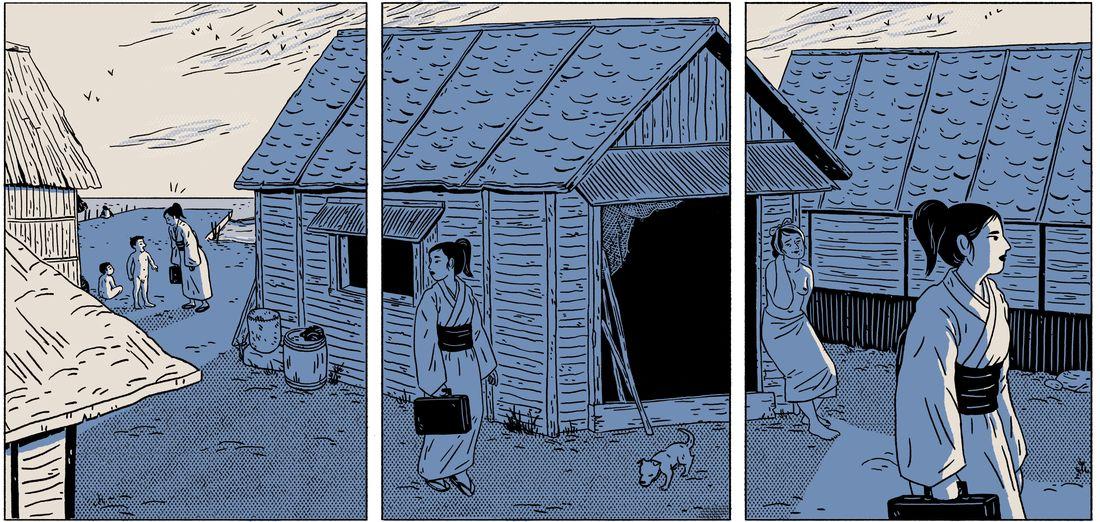 Ama - Le souffle des femmes, case de l'album © bdotaku