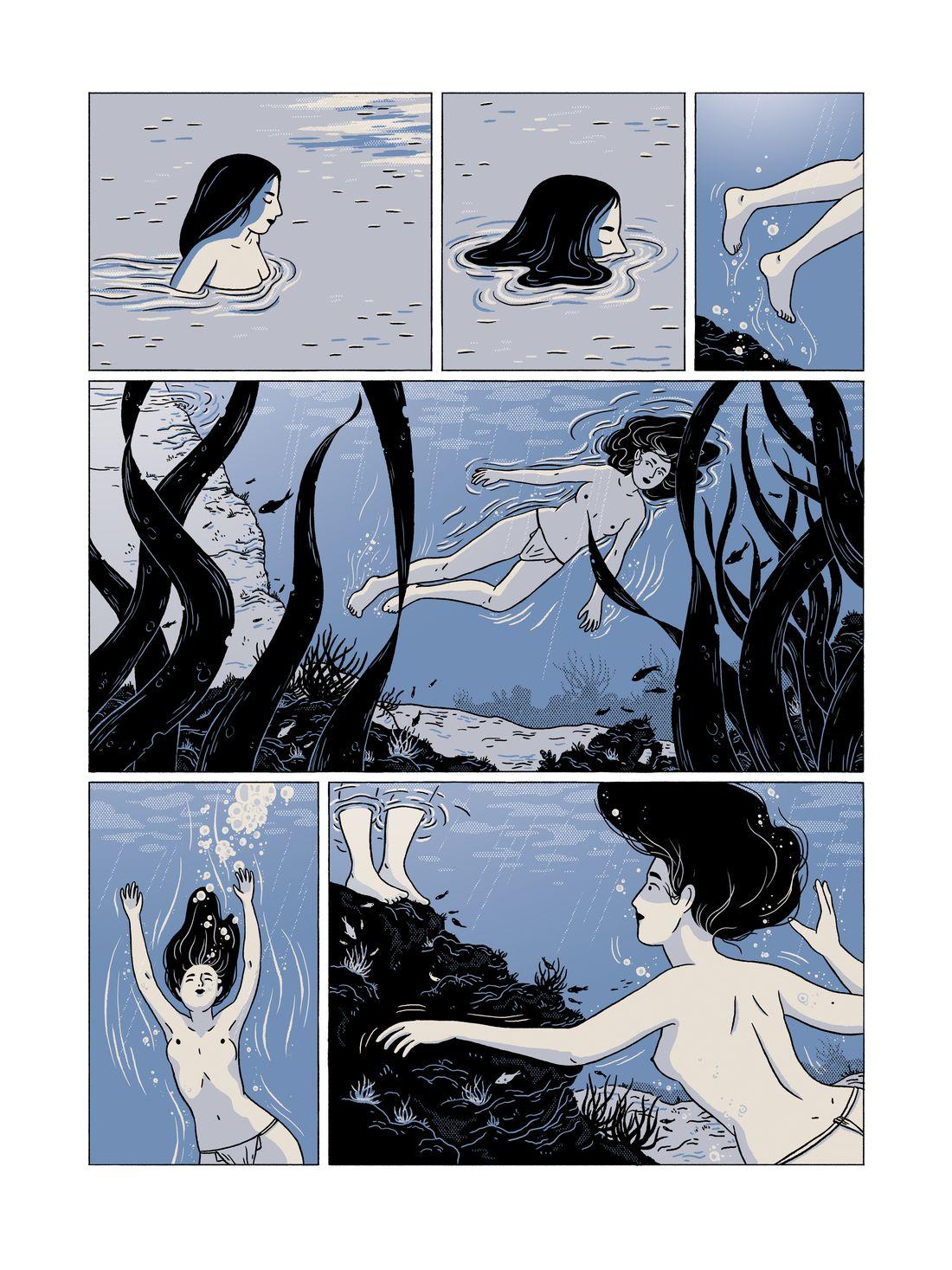 Ama - Le souffle des femmes, planche 27 finalisée © Sarbacane / Becq