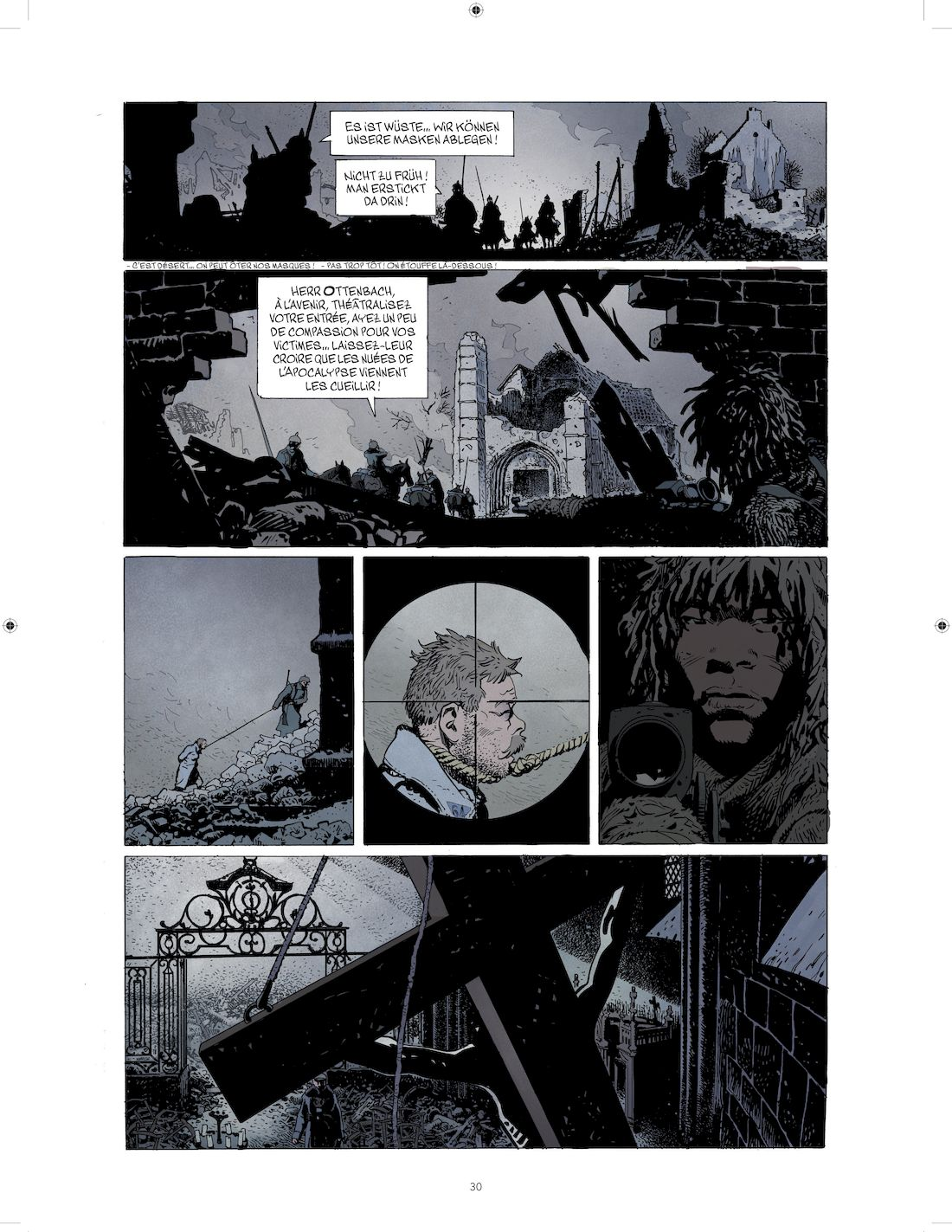 La ballade du soldat Odawaa, version finale de la page 30 © Rossi / Apikian / Walter