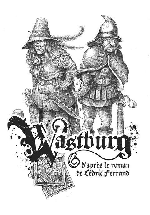 Wastburg, le livre de base © les XII Singes