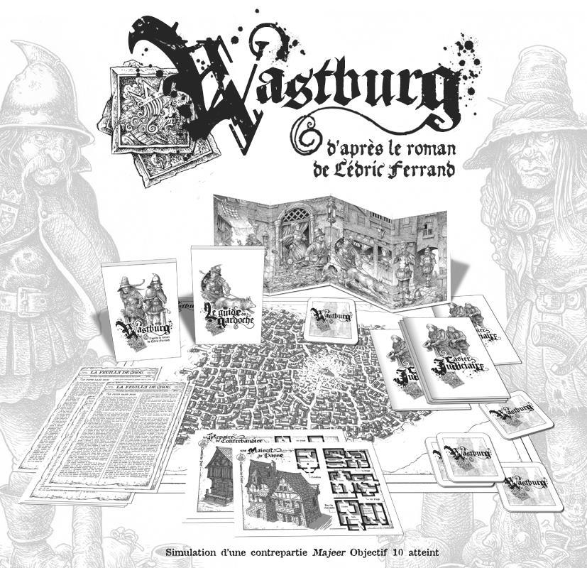 Wastburg, aperçu du matériel © les XII Singes