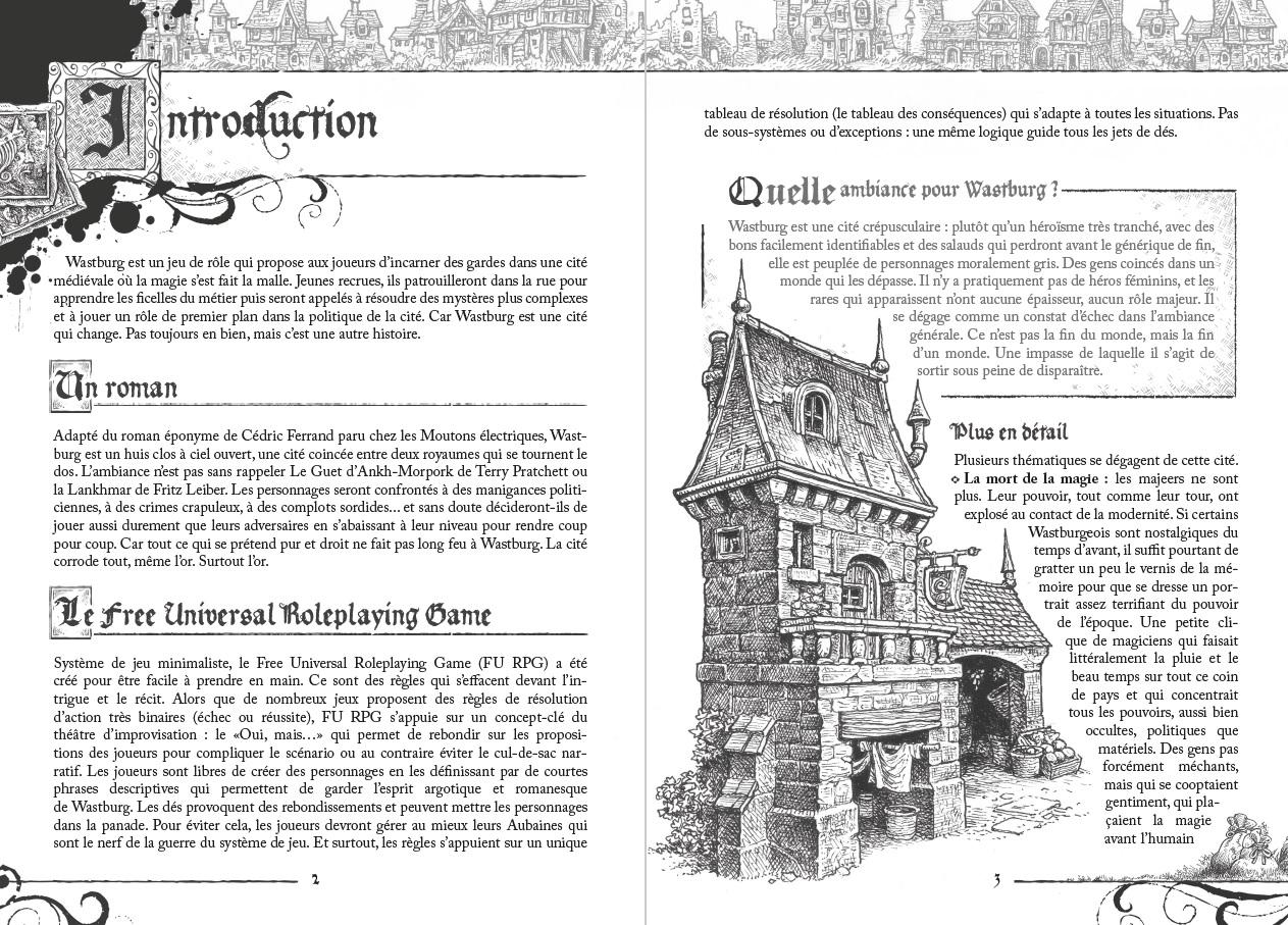 Wastburg, aperçu de la maquette © les XII Singes