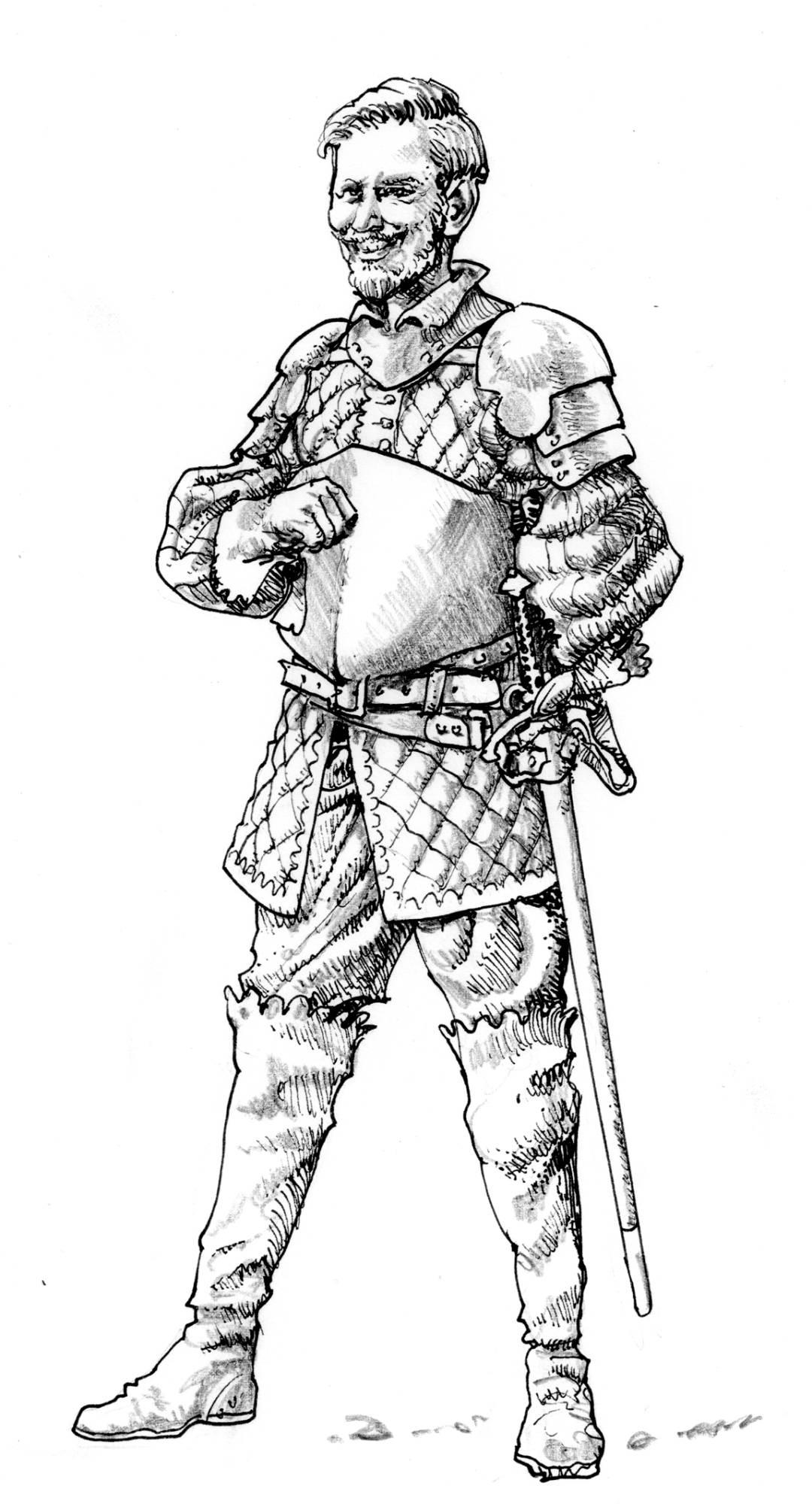 Wastburg, Personnage de Roland Barthelemy © les XII Singes