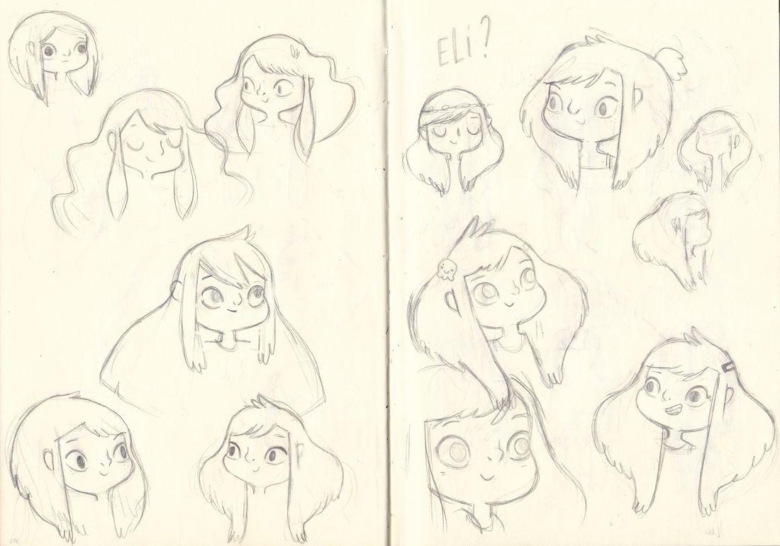 Eli & Gaston, recherche de personnage, Eli © Deregnaucourt