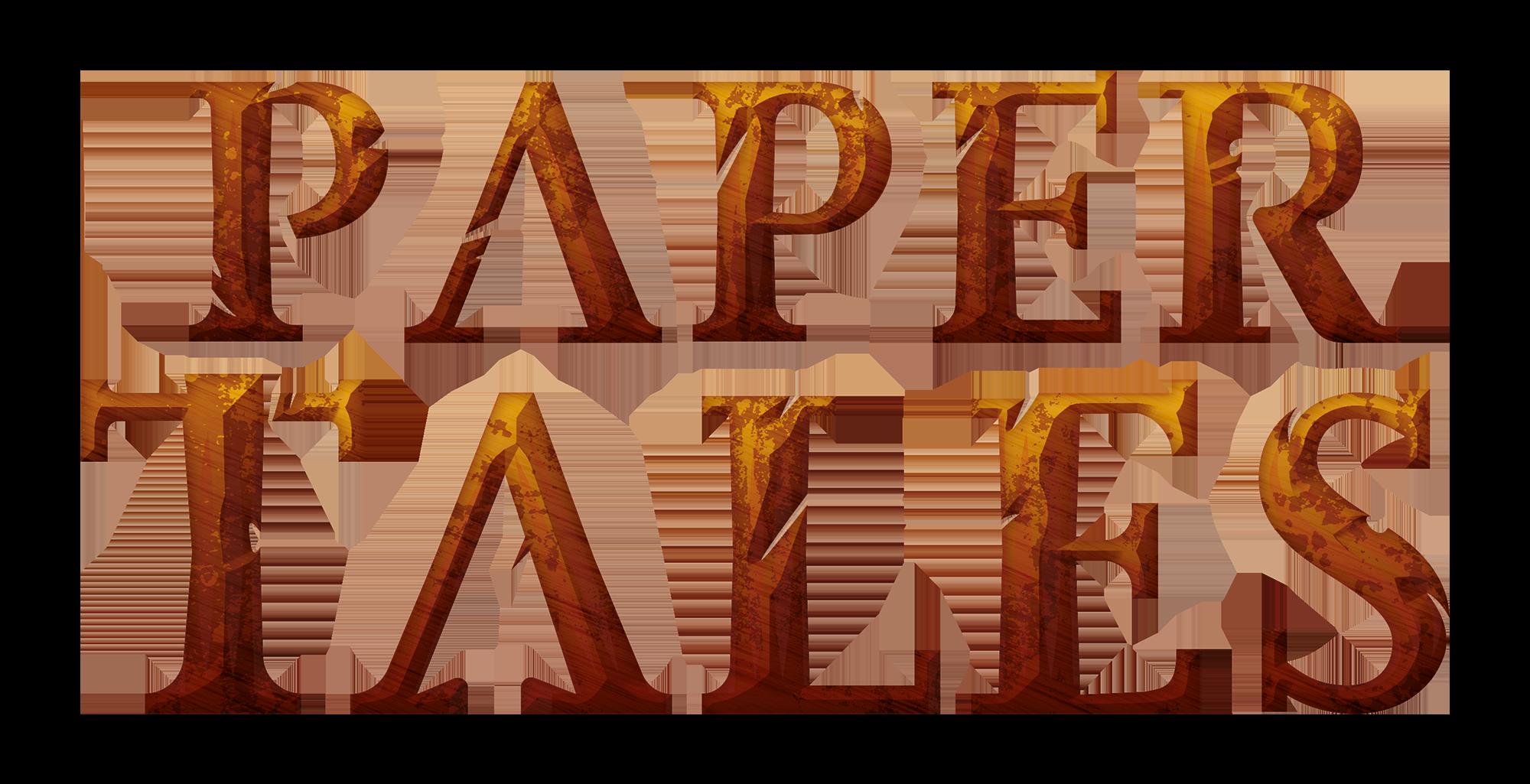 Paper Tales, le logo du jeu © Christine Alcouffe