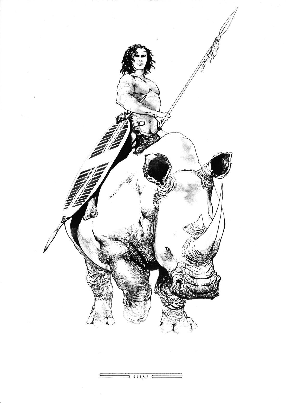 Seigneur de la Jungle, recherche : Tarzan © Stevan Subic