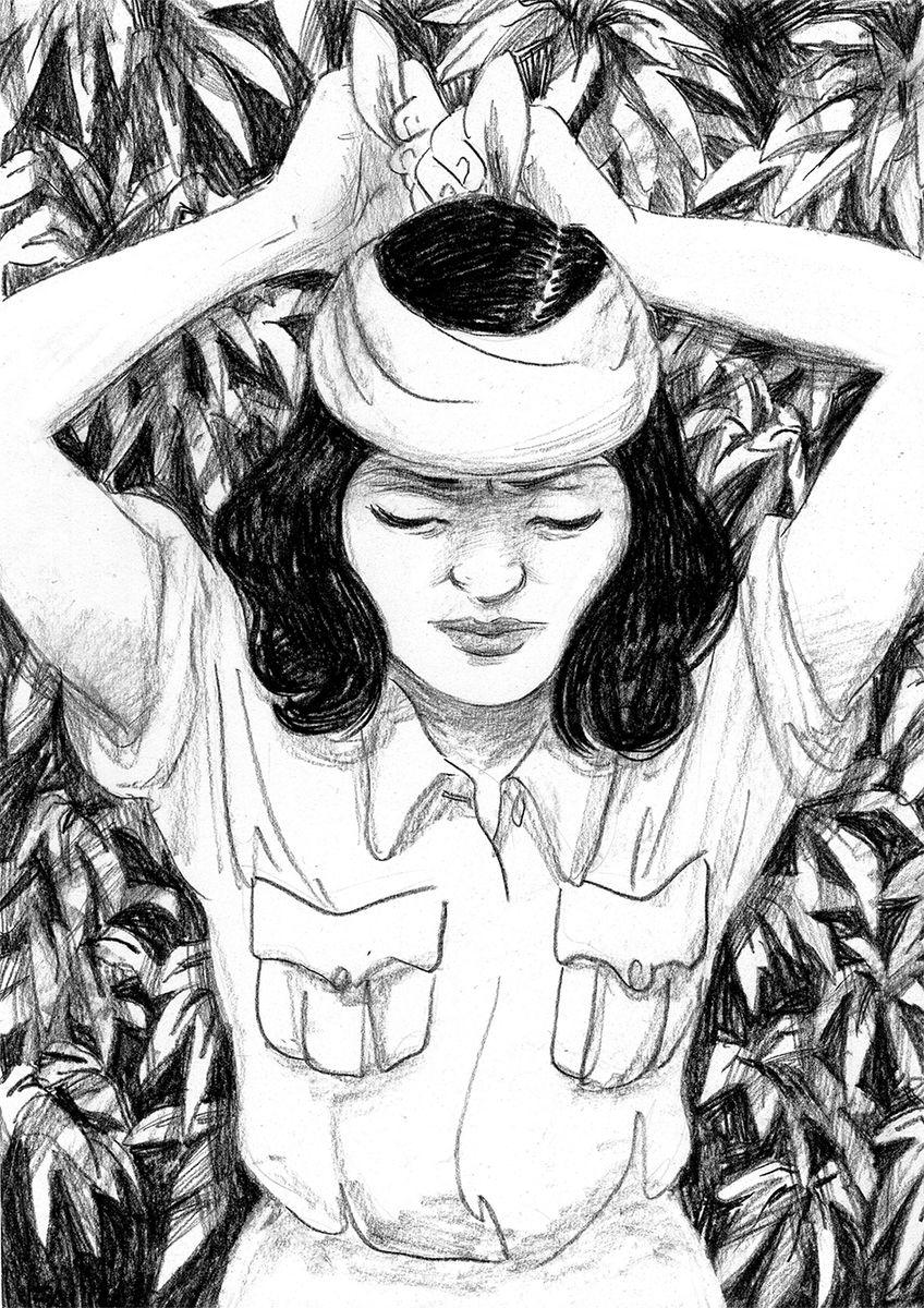 Phoolan Devi, recherche © Claire Fauvel