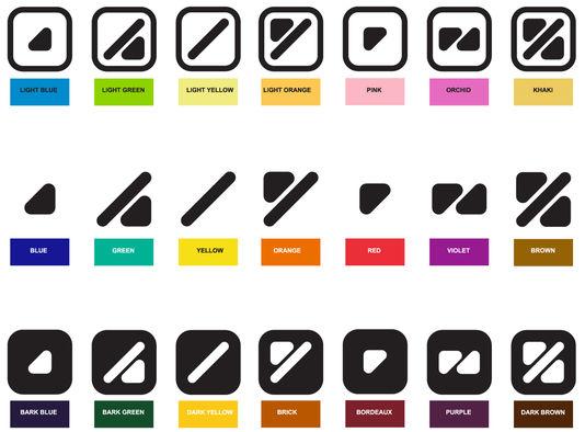 l'alphabet des couleurs de Miguel Neiva