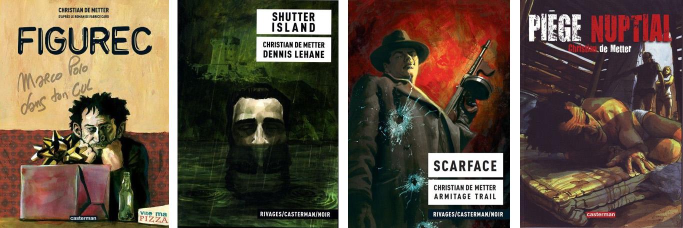 quatre adaptations littéraire signée par Christian De Metter