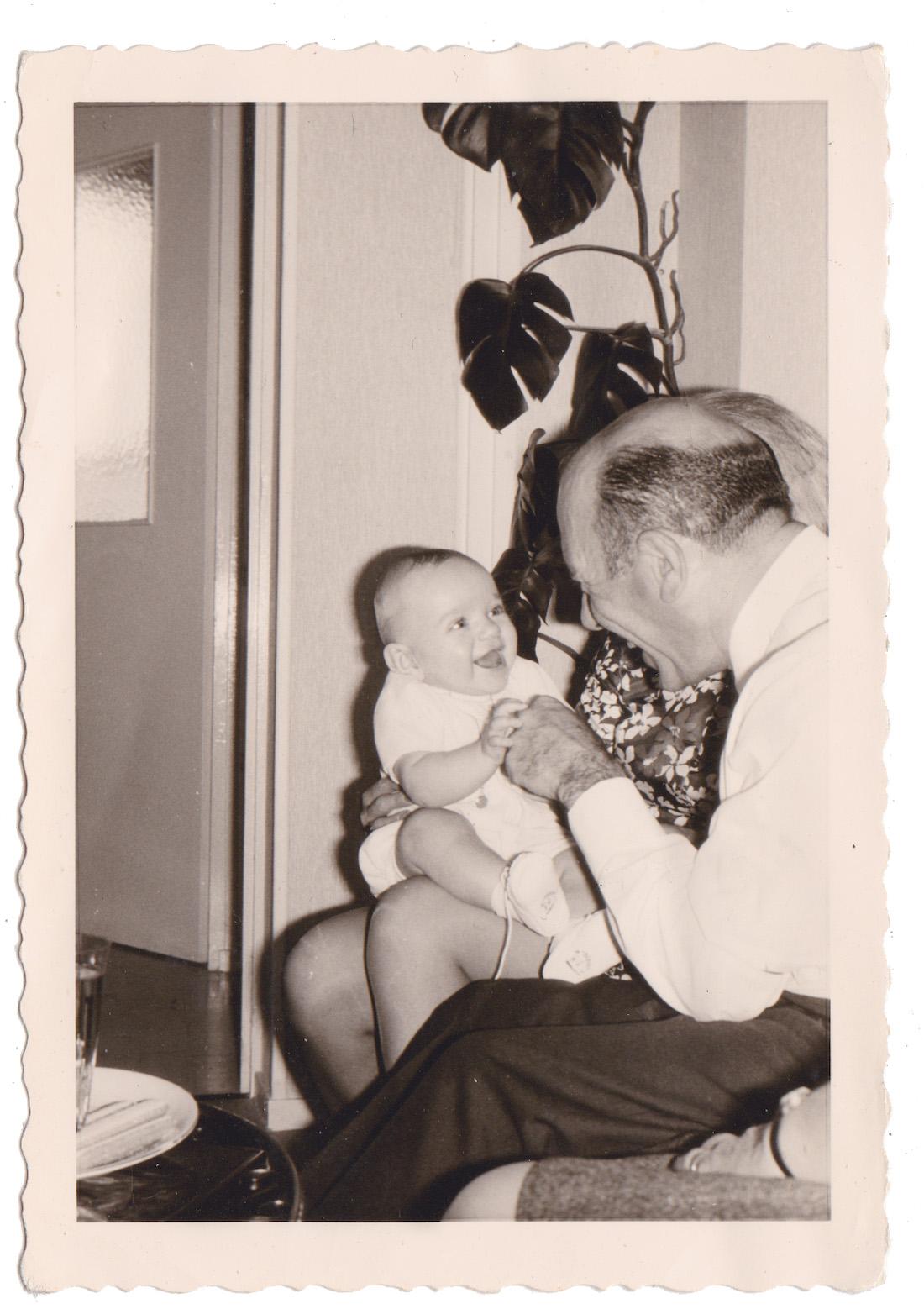 Christian De Metter et son Grand-Père