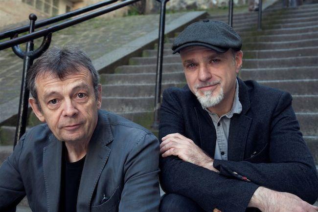Portrait de Pierre Lemaitre et de Christian De Metter © Isabelle Franciosa
