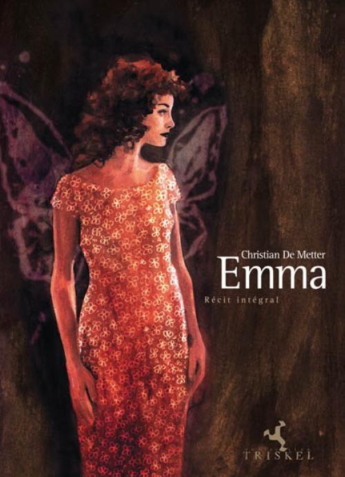 Emma, couverture de l'intégrale © De Metter