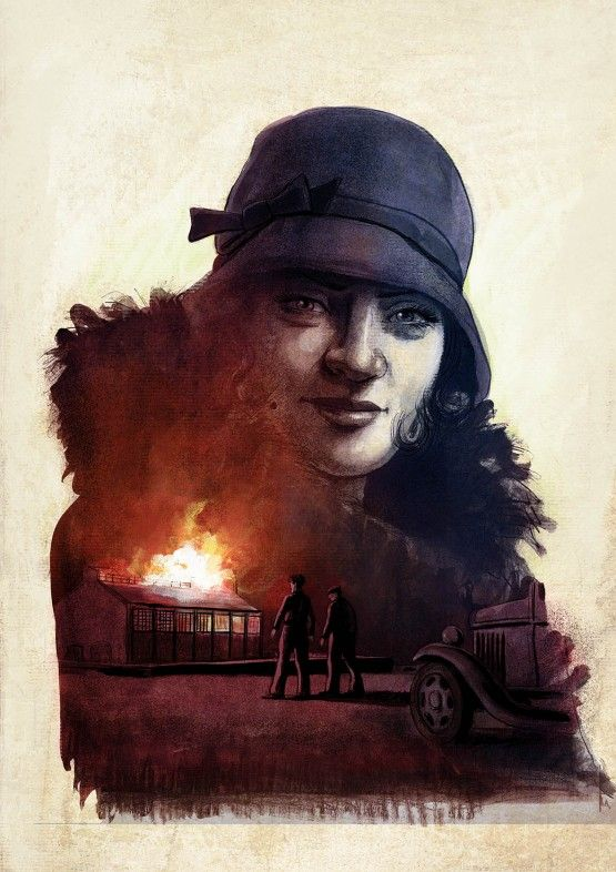 Couleur de l'Incendie, esquisse de la couverture définitive © De Metter