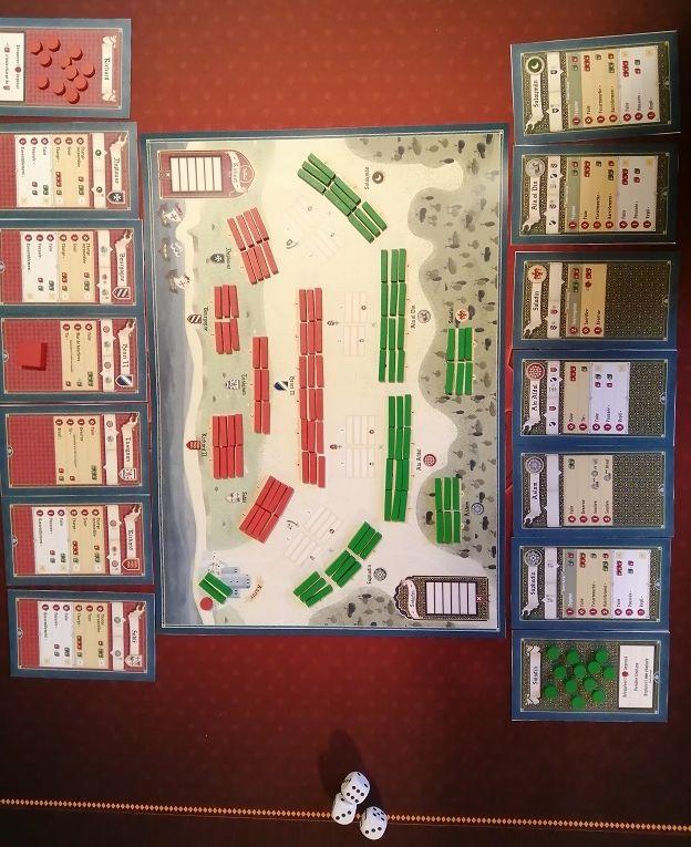 le prototype de la Bataille d'Arsouf