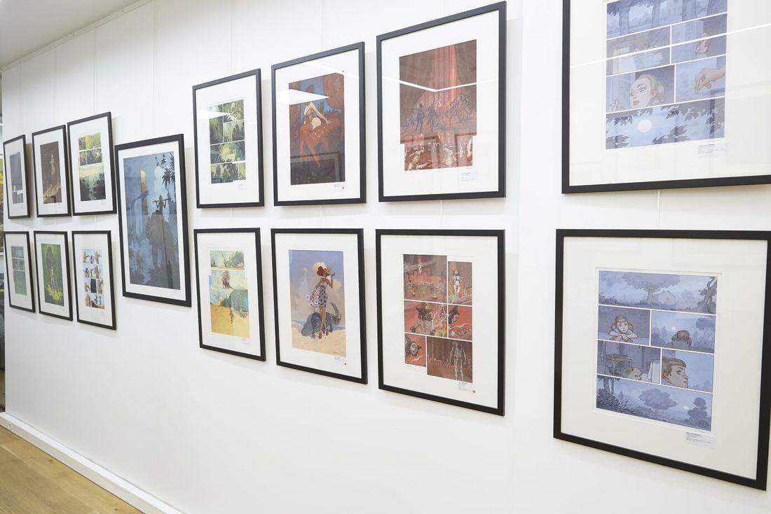 Exposition Daniel Maghen © Florent Drillon