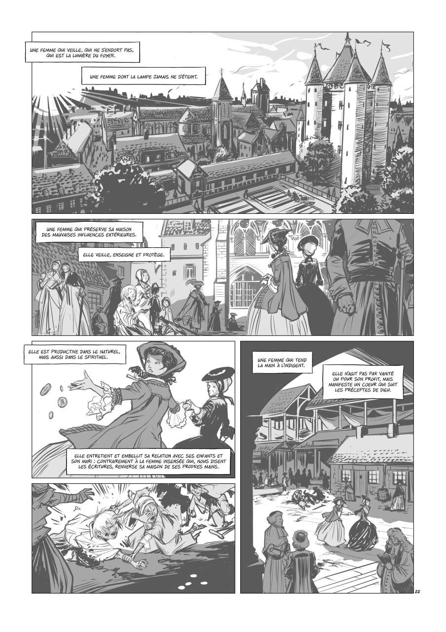Liaisons dangereuses préliminaires, crayonné de la planche 22 du tome 2© Glénat / Djief / Betbeder
