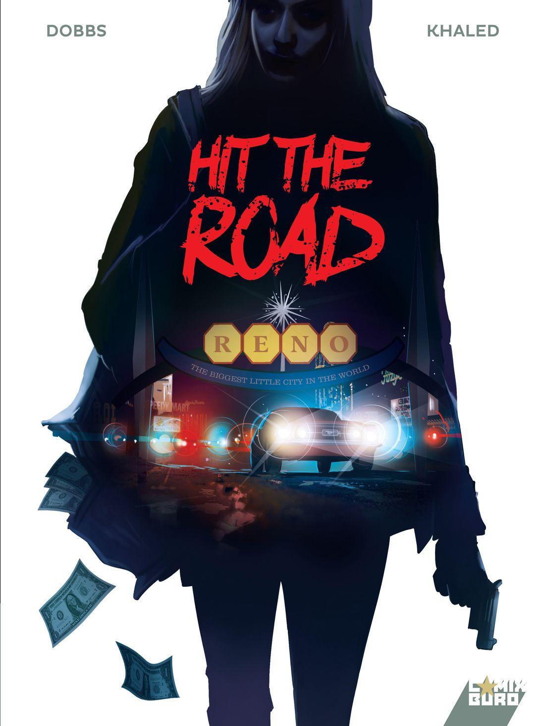 Hit the road, couverture définitive © Afif Khaled