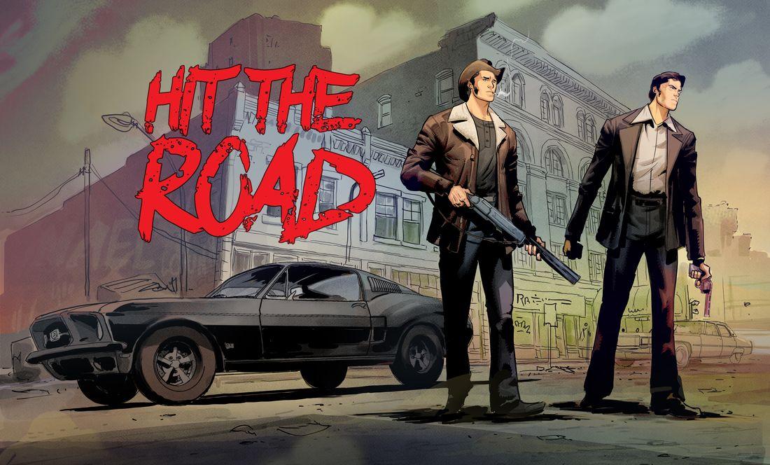 Hit the road, illustration © Afif Khaled / Dobbs