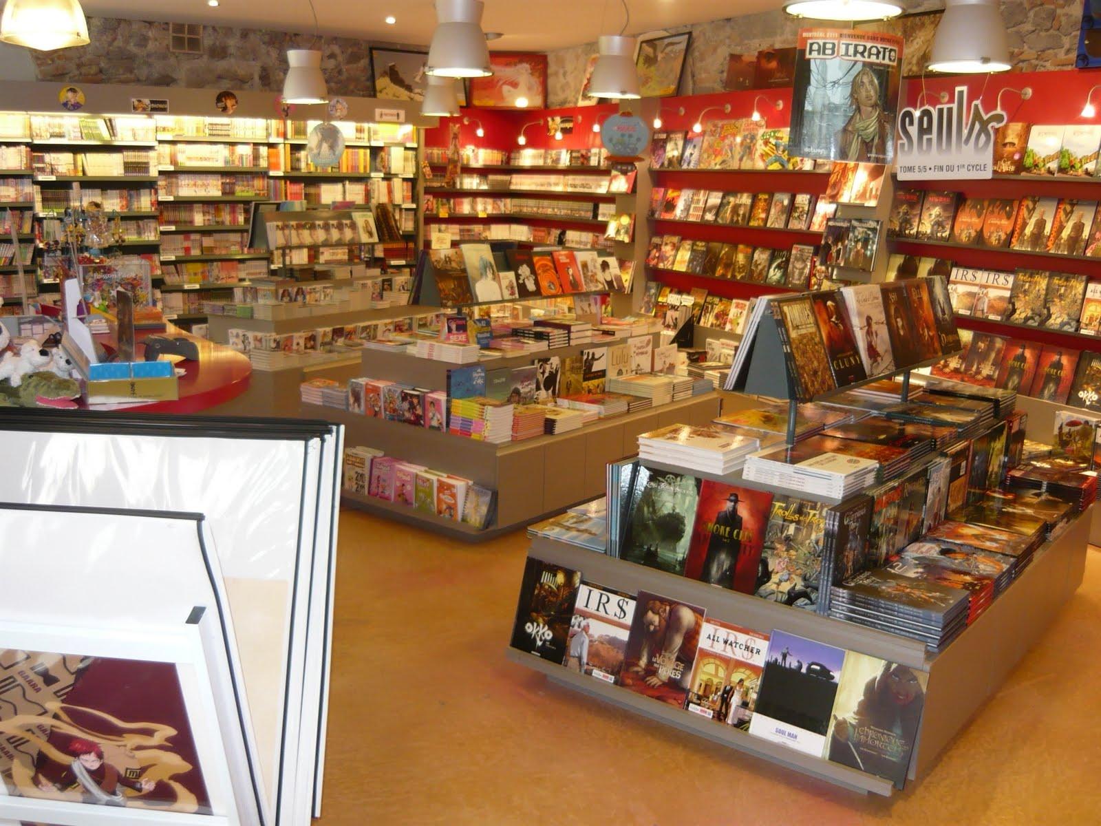 les rayons de la librairie © Bdfugue