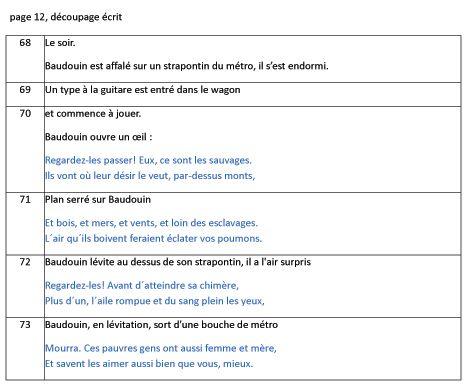 Les deux vies de Baudouin, découpage de la planche 12 © Delcourt / Toulmé