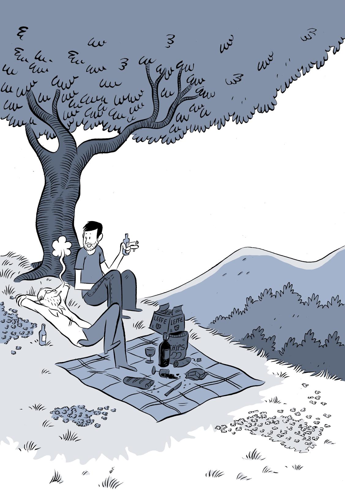 Les deux vies de Baudouin, illustration © Delcourt
