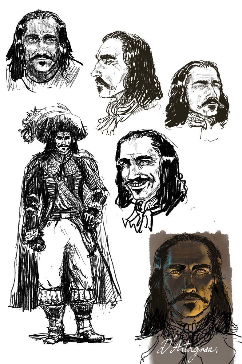 Mousquetaires, d'Artagnan © Florent Calvez