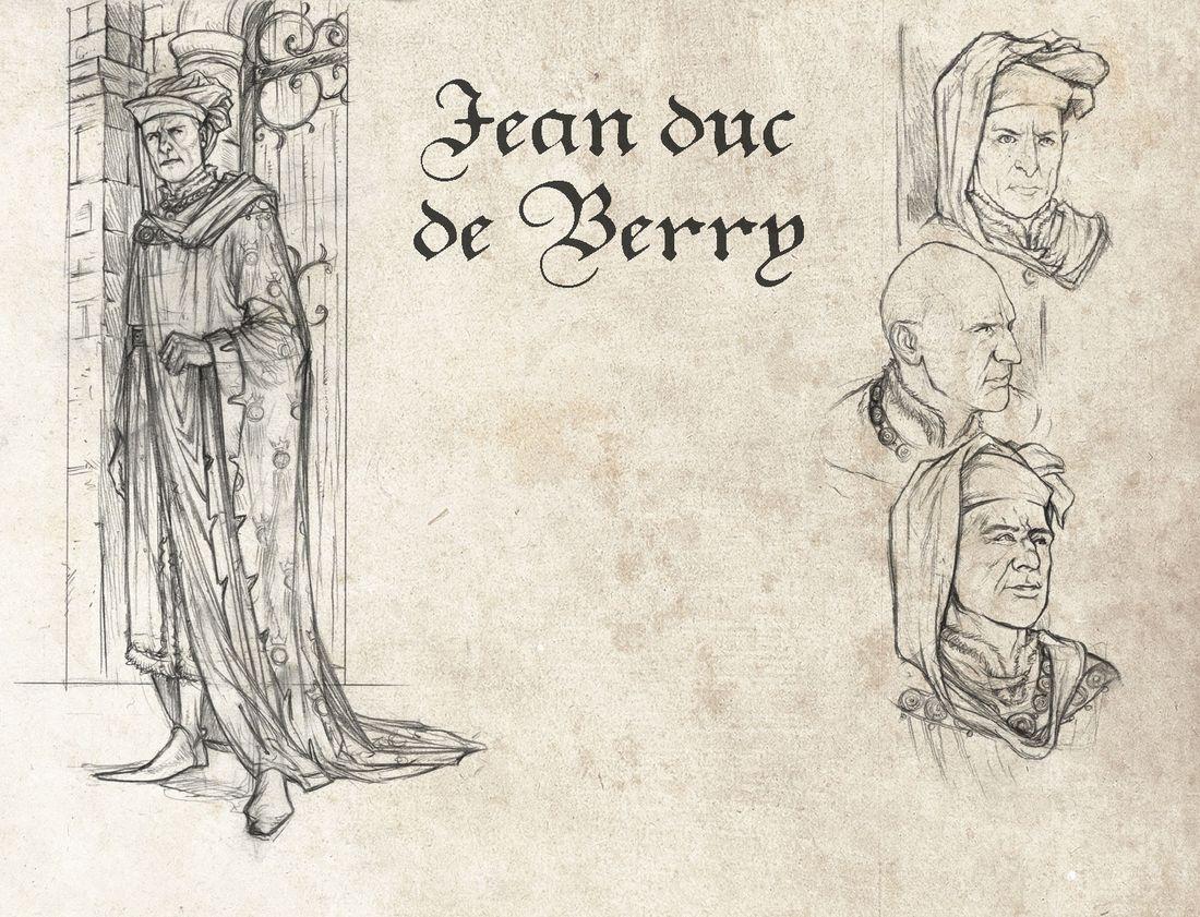 La Couronne de Verre, Jean, Duc de Berry © Delcourt / Tommaso Bennato / France Richemond