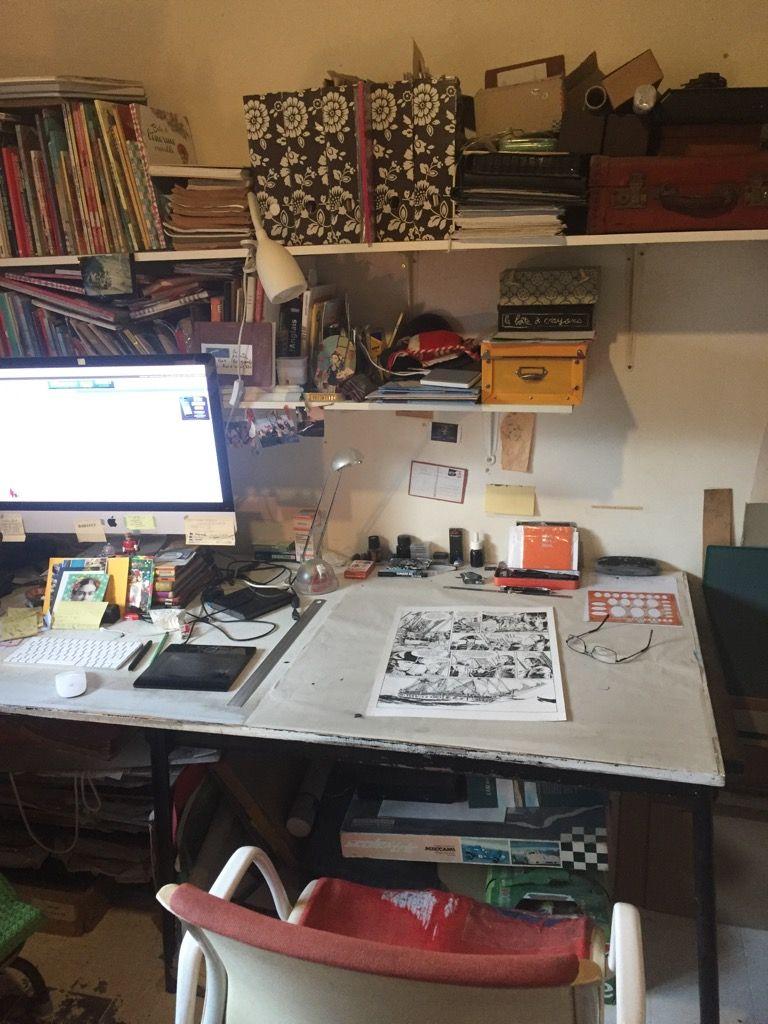 L'atelier de Franck Bonnet