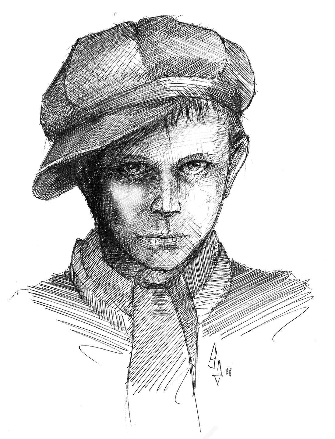 Aube de Sang, illustrations d'un Gavroche de la Commune © Edition Sycko / Sylvain Soumille