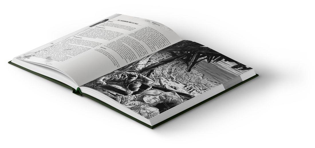 Aube de Sang, maquette intérieure © Edition Sycko / Greg Lofé Guillhaumont