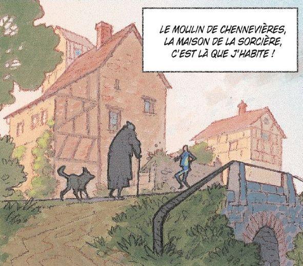 Nymphéas noirs, le Moulin de Chennevières © Didier Cassegrain / Fred Duval
