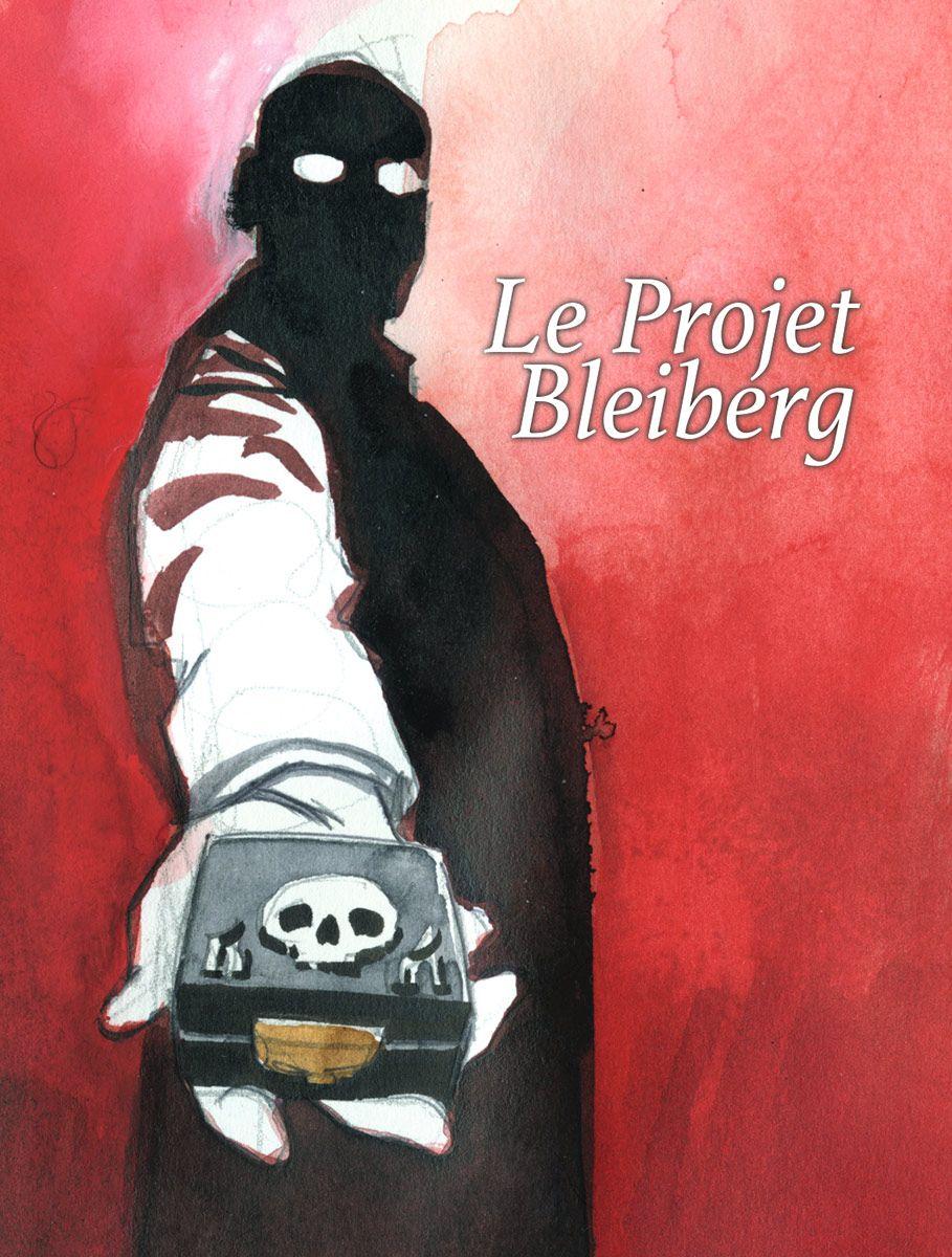 Le projet Bleiberg, recherche de couverture © Peynet