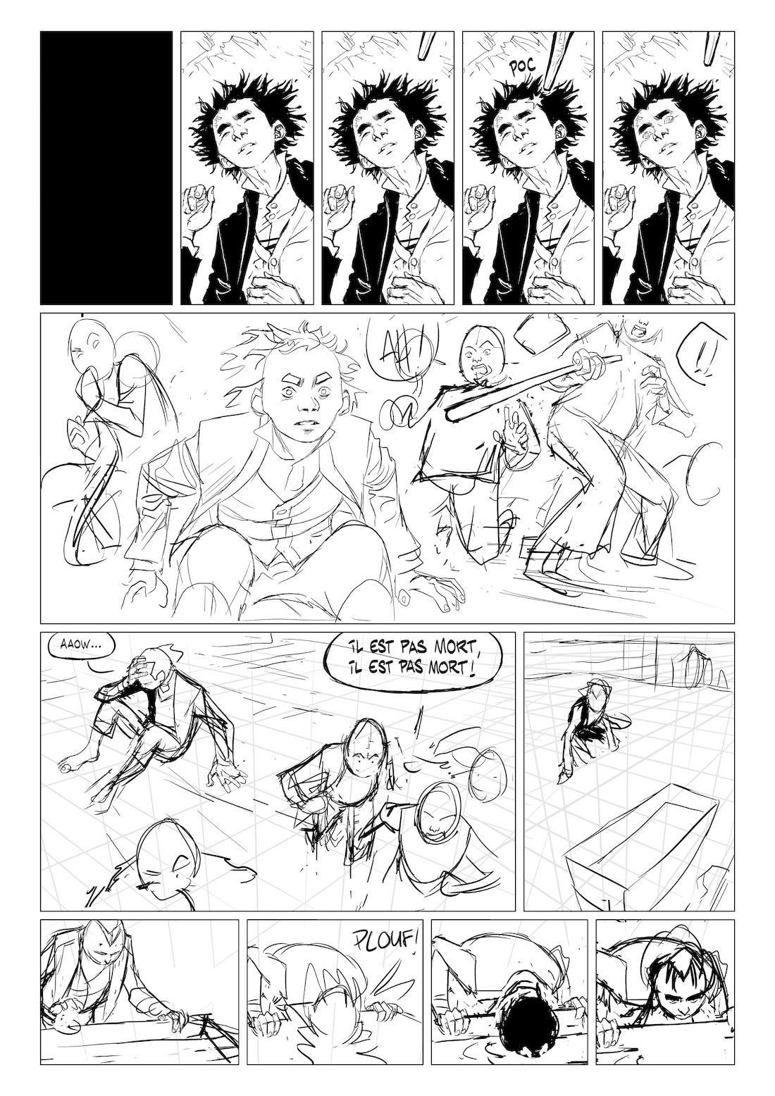 Stern, page 16, work in progress © Maffre