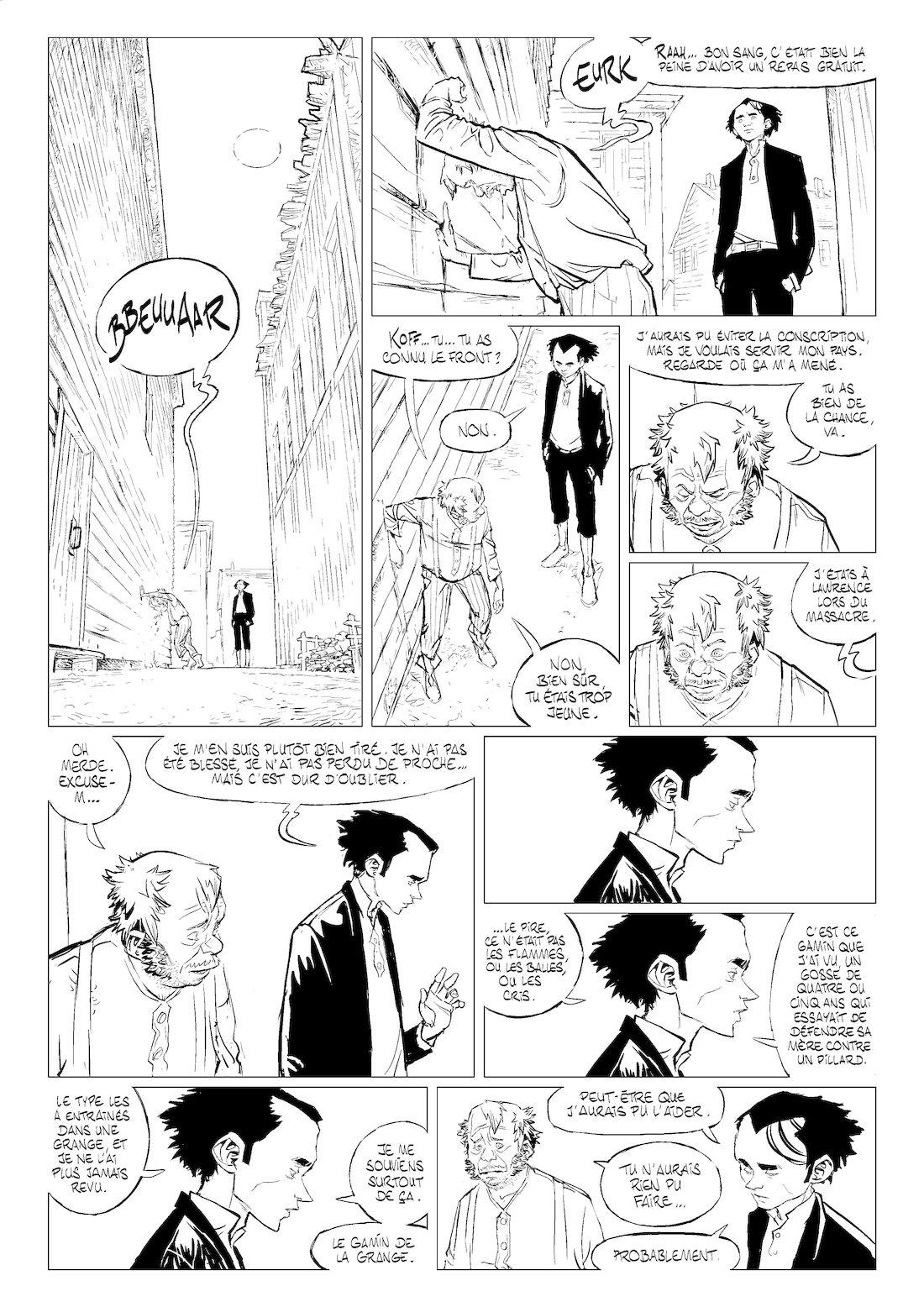 Stern, page 36B, work in progress © Maffre
