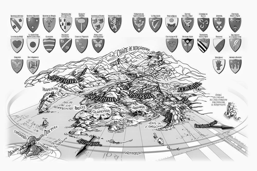 l'Agence Barbare, la carte du monde © Stellamaris