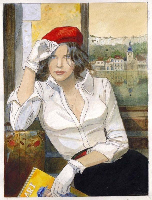 Affiche du festival de Cajarc 2004 © Gibrat