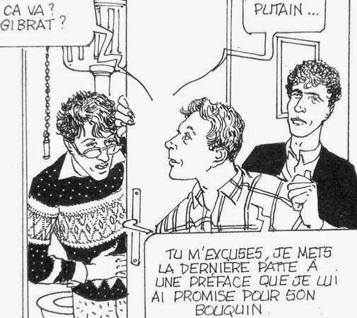 Gibrat et Berroyer dans dossier Goudard © editions du square, 1980