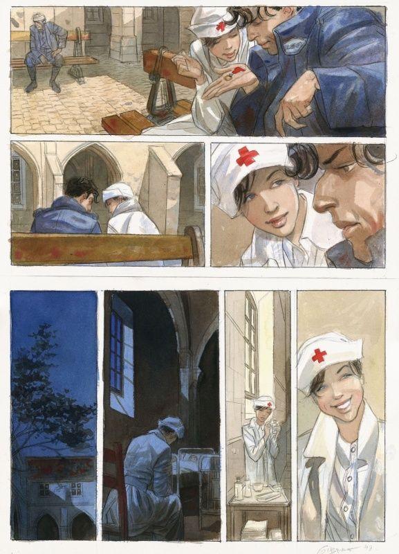Page muette, Mattéo, tome 1, page 48 © Futuropolis / Gibrat