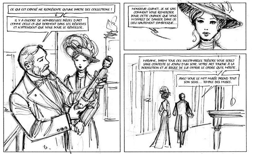 Mata  Hari, storyboard de la planche 31 © Laurent Paturaud