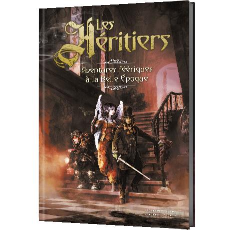 Les Héritiers, le livre de base © Le Département des Sombres Projets