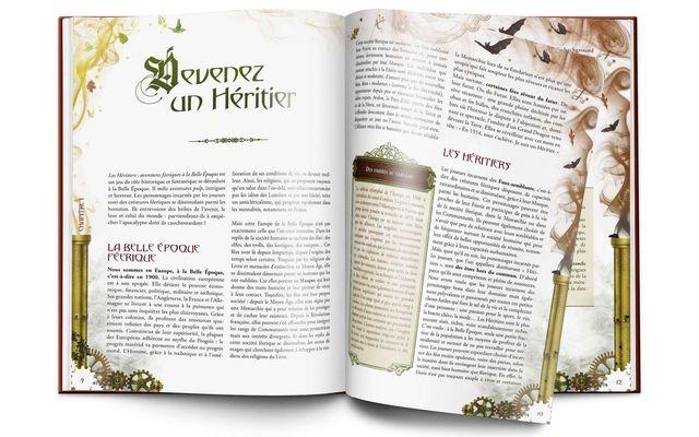 Les Héritiers, l'intérieur du livre © Le Département des Sombres Projets