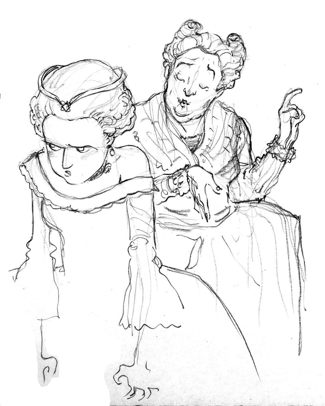 Mémoires de Marie-Antoinette © Isa Python