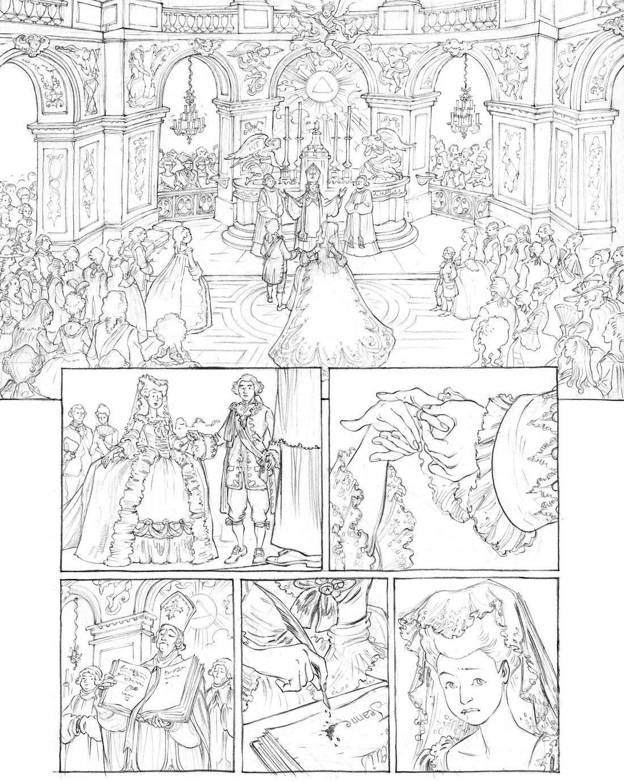 Mémoires de Marie-Antoinette, page 23 © Isa Python