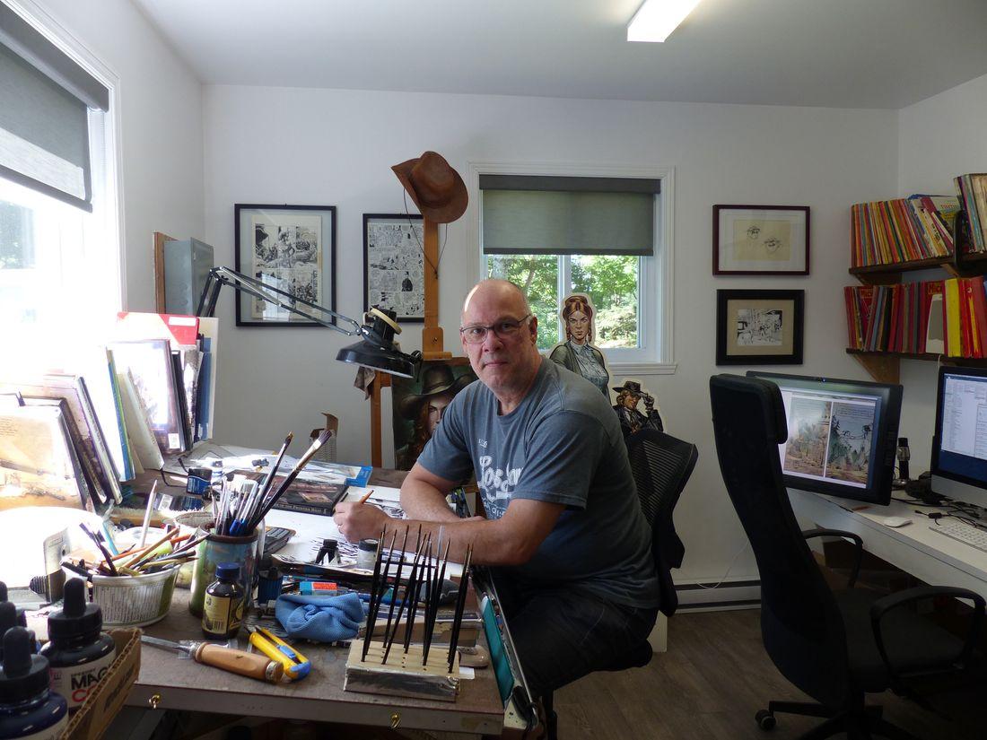 Jacques Lamontagne, scénariste du Manoir Sheridan