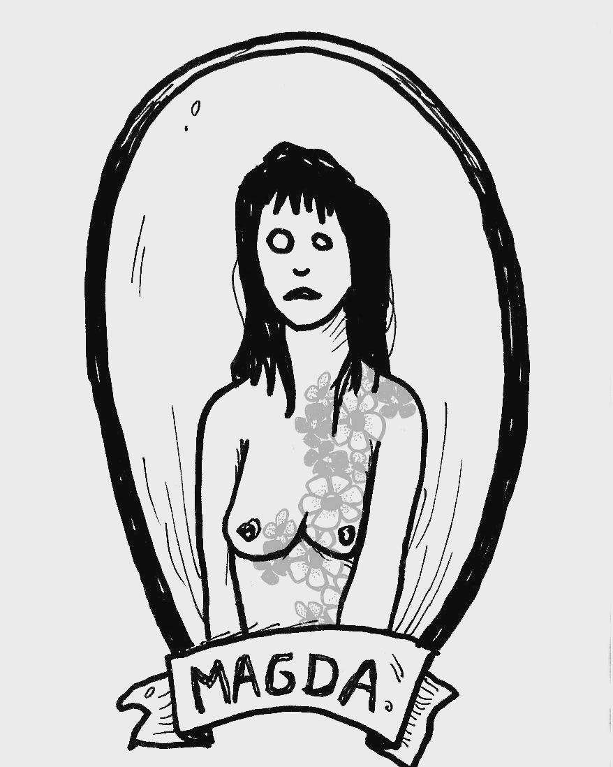 illustration d'un article sur le tatouage dans le JdR © Jérémy Demeure